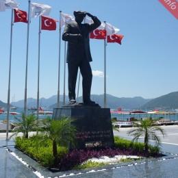 Ataturk Statue Marmaris