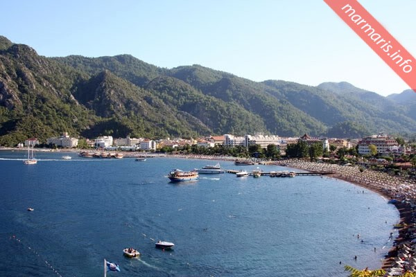 Icmeler Beach Marmaris Turkey